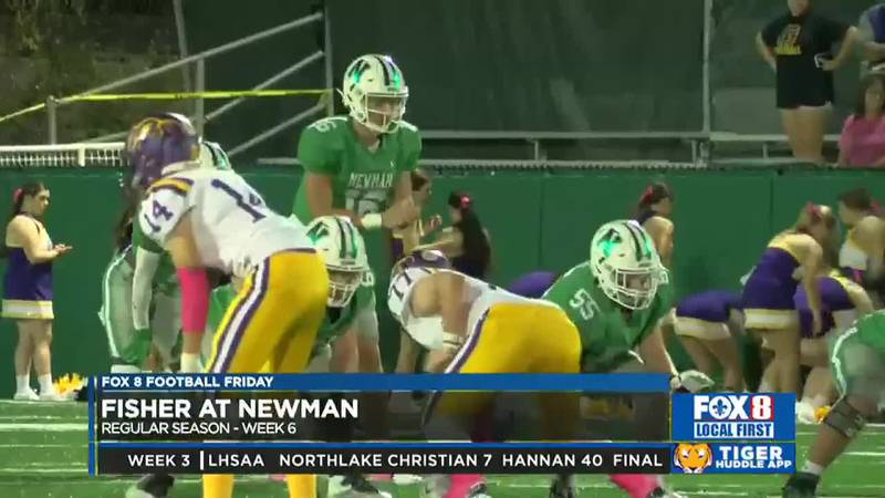Newman remains undefeated on the season.