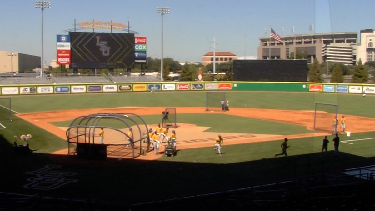 LSU held a baseball scrimmage on Thursday, Feb. 4.