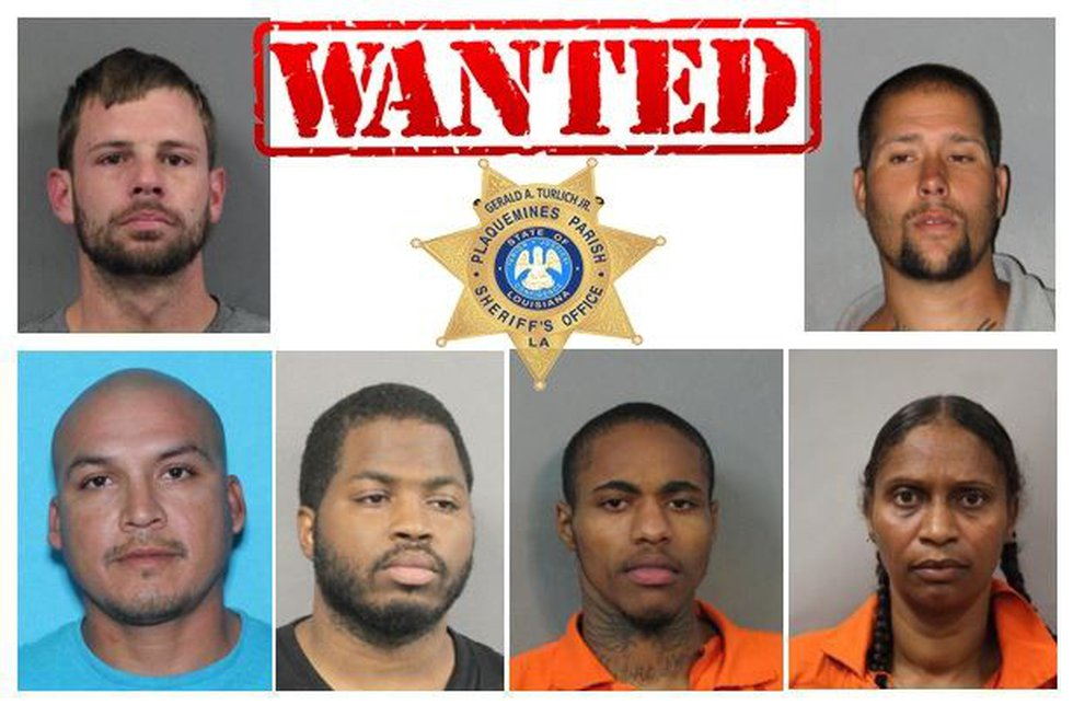 Officers said these people are still wanted in the narcotics investigation. (Source: PPSO)