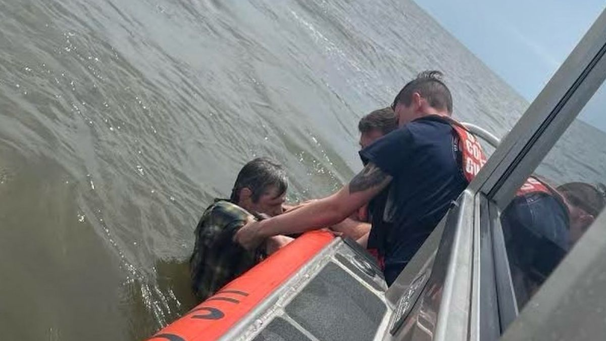 A resident of New Orleans was safely rescued while wearing a life jacket and had no reported...