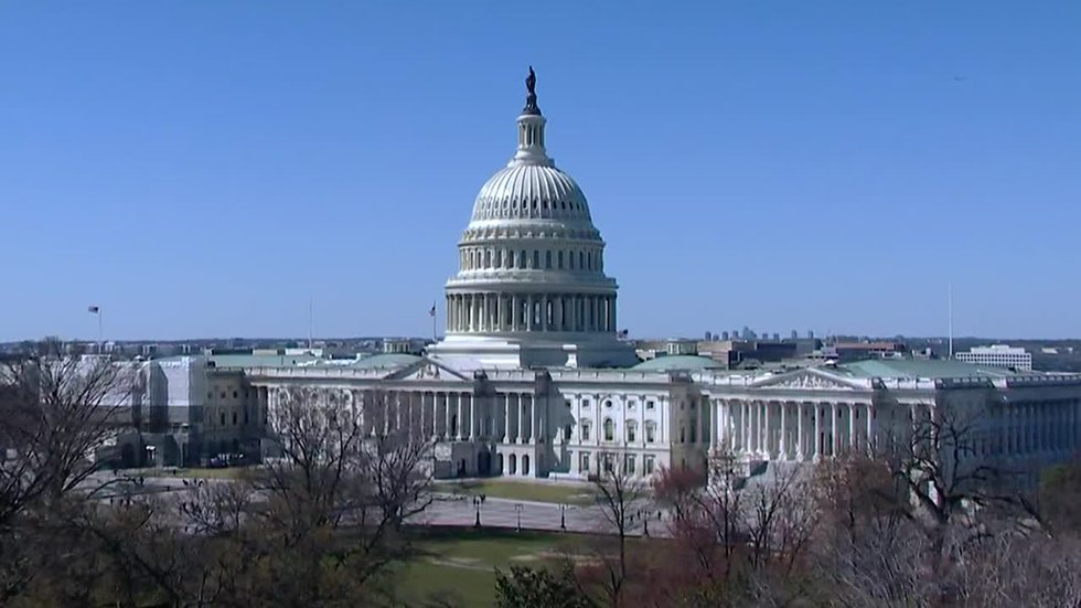 On Capitol Hill, there's a busy week ahead for the U.S. Senate.