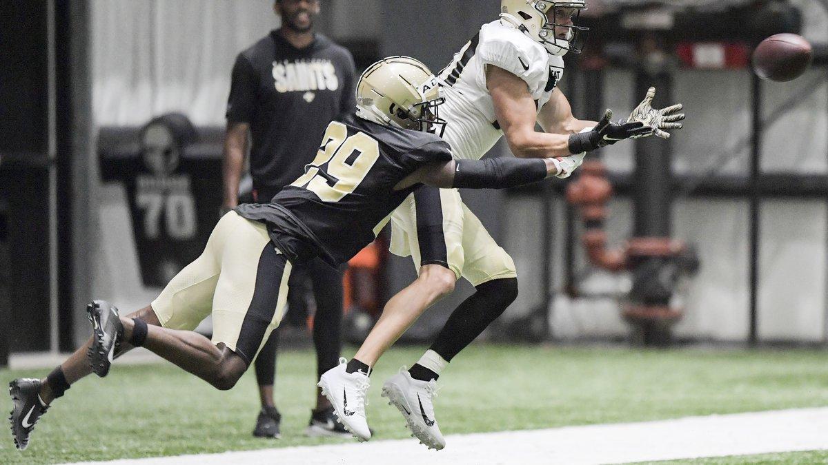 The Saints have re-signed wide receiver Chris Hogan. (Photo by Max Becherer, NOLA.com, The...