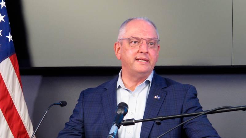 Louisiana Gov. John Bel Edwards announces toughened coronavirus restrictions on Tuesday, Nov....