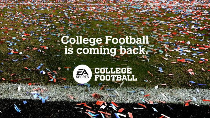 EA Sports announces college football is coming back