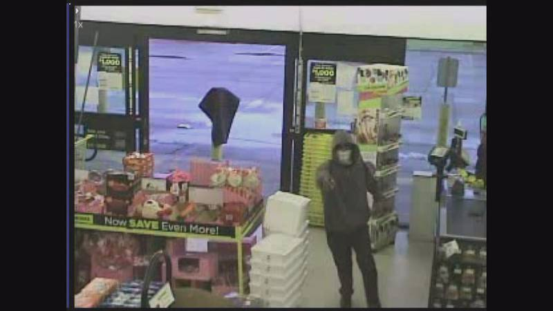 Surveillance Still picture from the Dollar General NOPD officer shooting