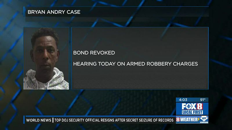 Bond revoked for man accused of killing Portia Pollock