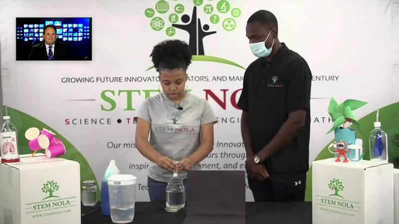 Virtual STEM experiment - Tornado in a jar