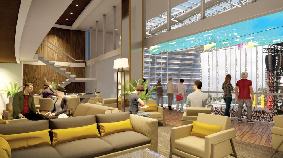 Investors say the UMUSIC Broadwater Hotel in Biloxi will seamlessly integrate a stunning...