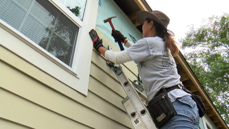 Volunteers allowed to sign up with Habitat for Humanity for the 1st time in 19 months.