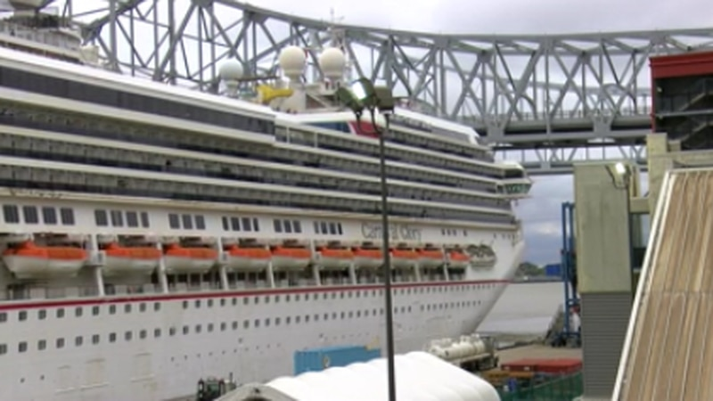 Carnival Glory in New Orleans