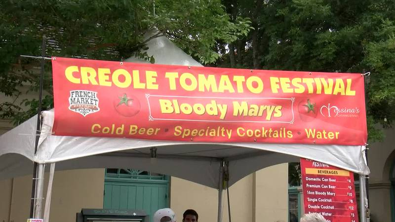 The Creole Tomato Festival returned to the French Market for its 35th year to celebrate the...