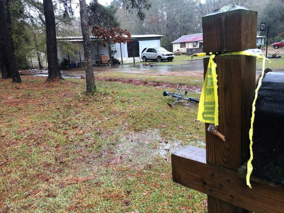The scene almost 24 hours after Antonio Nichols, 47, of Independence, La. was fatally by a St....