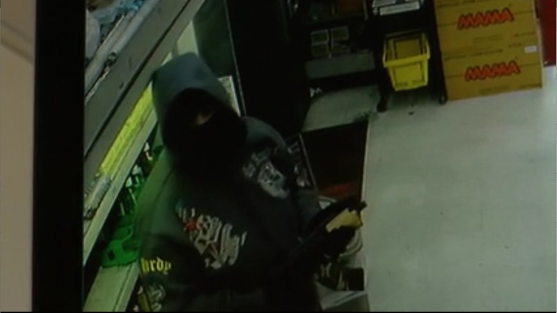 Two store clerks are lucking to be alive after a brazen store robbery in New Orleans on Dec. 17...
