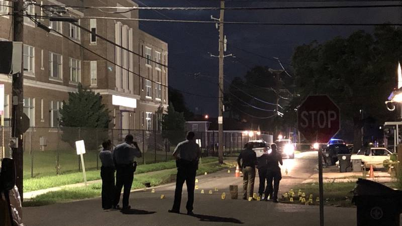 New Orleans Police are on the scene of a shooting in the St. Roch neighborhood that has left...