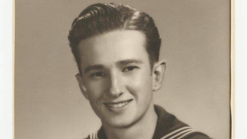 Lee Ray Broussard, a 19-year-old sailor from Louisiana, witnessed the end of World War II