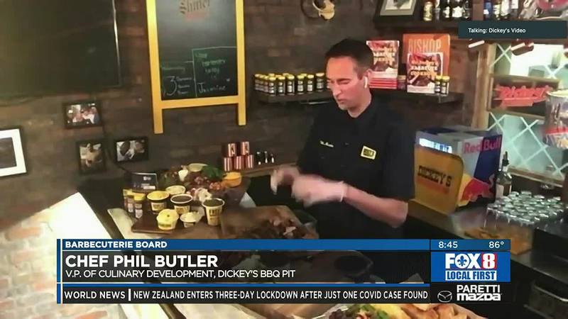 Barbecuterie boards with Chef Paul Butler for Wednesday, Aug. 18