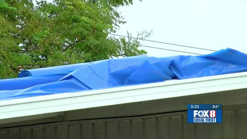 Blue Roof Tarps update