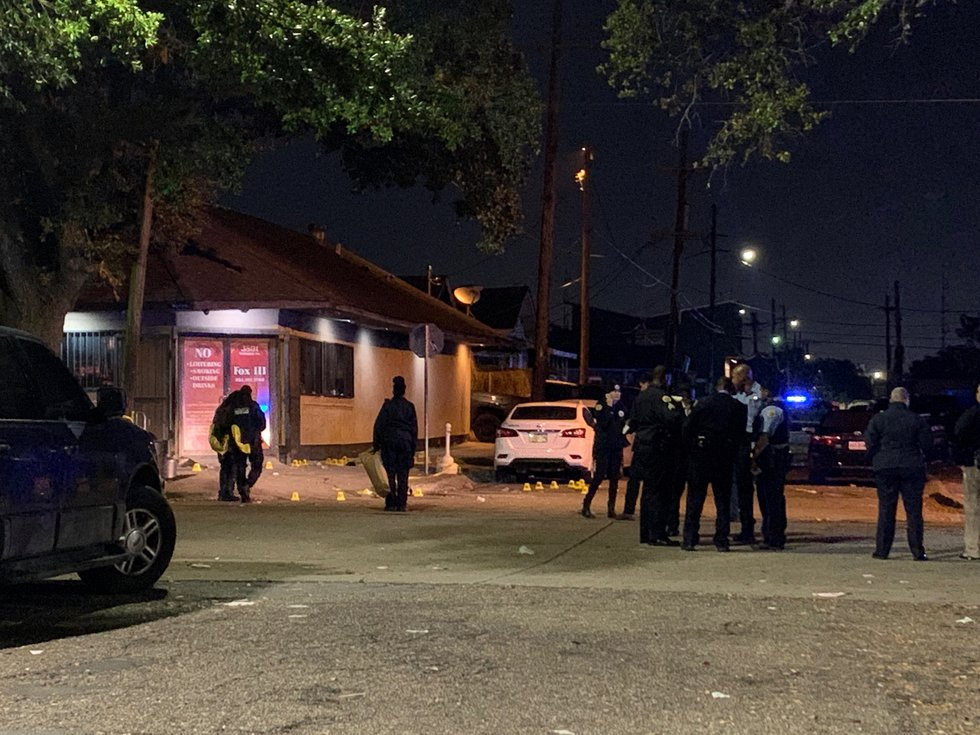 NOPD is currently investigating a shooting in the 3800 block of Washington Avenue. One victim...