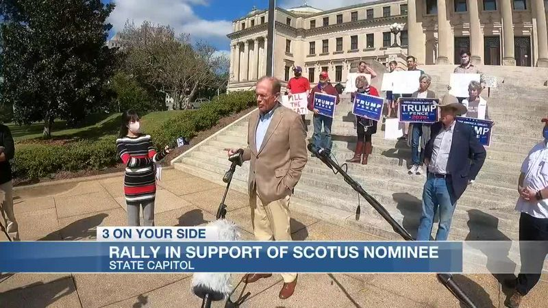 Rally in support of SCOTUS nominee
