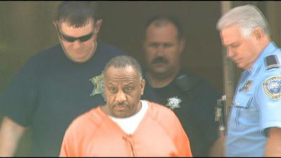 Errol Victor leaves the Edgard Courthouse after being sentenced to life in prison. (FOX 8 photo)