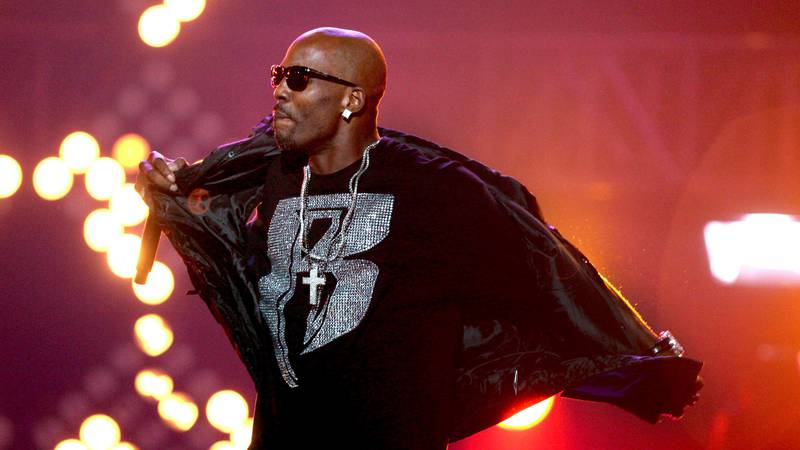 FILE- In this Oct. 1, 2011 file photo, DMX performs during the BET Hip Hop Awards in Atlanta.