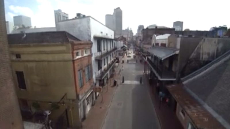 New Orleans CBD and French Quarter.