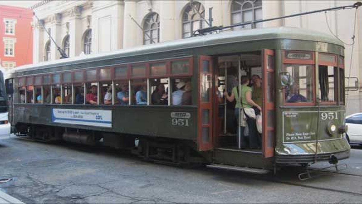 New Orleans' RTA announced all city public transit services will be suspended indefinitely...