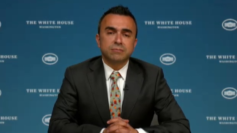 White House Vaccinations Coordinator Dr. Bechara Choucair.