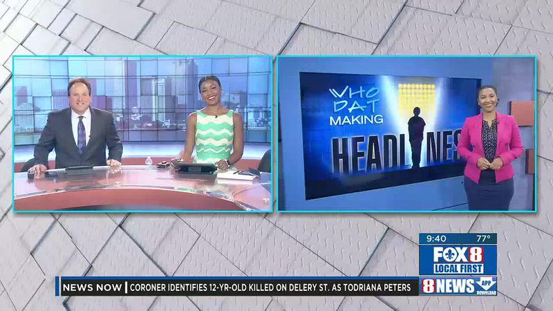 Who Dat Makin Headlines: June 2