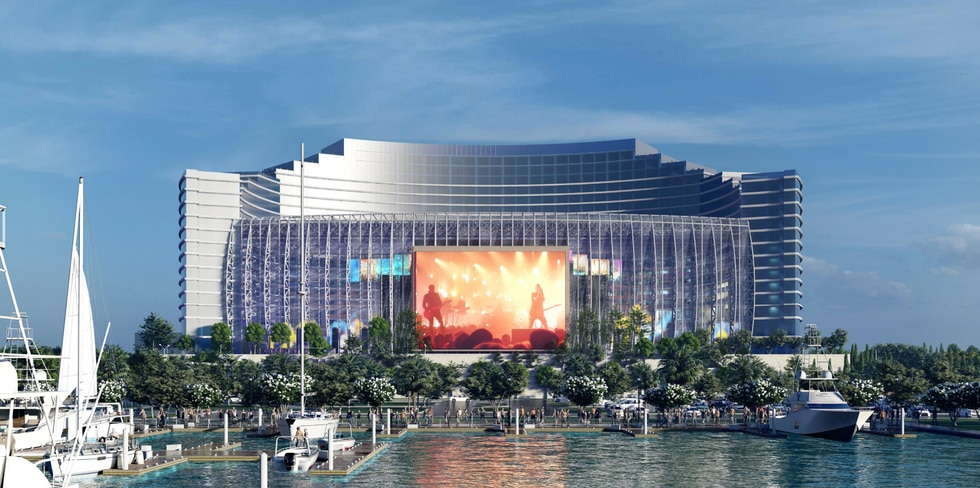 The UMUSIC hotel in Biloxi will be built on a 266 acre property that was once the gem of the...