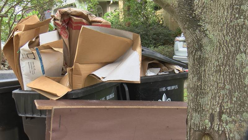 New Orleans trash concerns