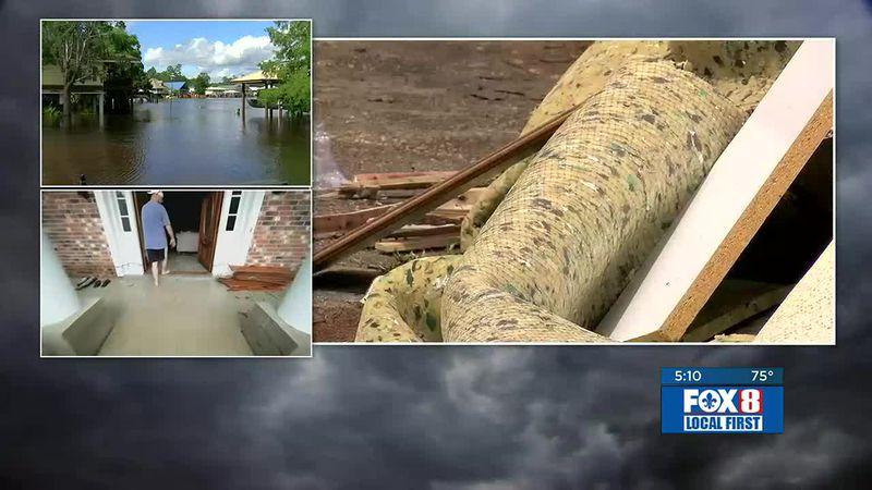 Claudette Flooding in St. Tammany Parish