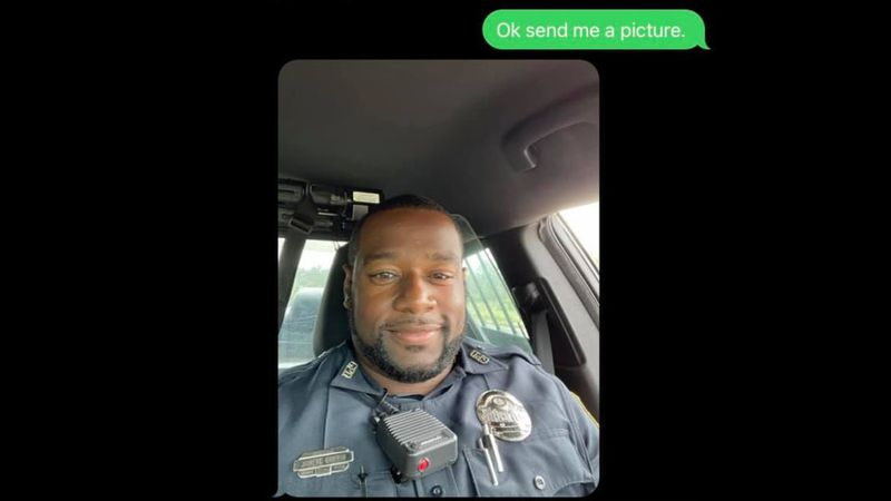 The Gulfport (Miss.) Police Department posted a funny exchange purportedly between an officer...