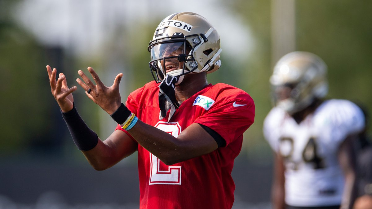 Jameis Winston signed a 1-year deal this offseason.