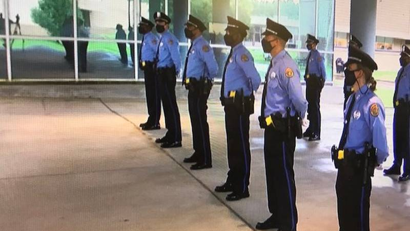 NOPD graduates new officers at a time when the department deals with a manpower shortage