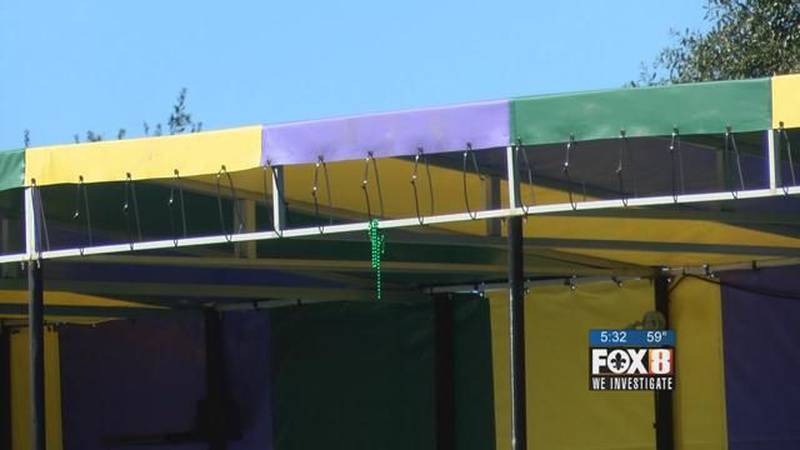 New Mardi Gras stand cost taxpayers $90,000