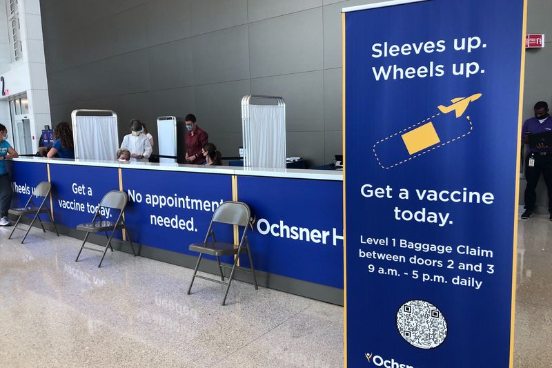 Ochsner offer travelers COVID-19 vaccines at New Orleans airport