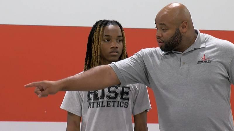 Jefferson Rise head coach Trent Mackey prepares his team for their first season.