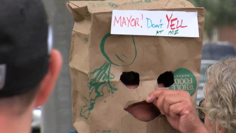 "NOLA residents put on ""trash parade"""