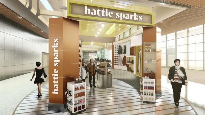 In this rendering provided by Hattie Sparks, the New Orleans boutique was set to get its own...