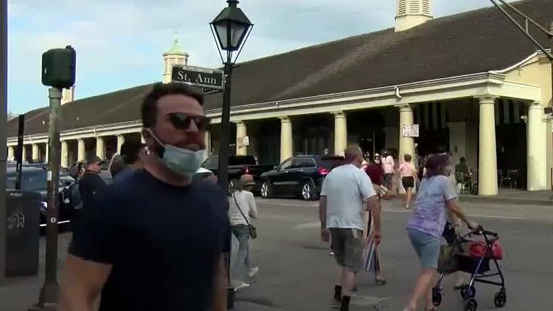Businesses slowly return to the French Quarter
