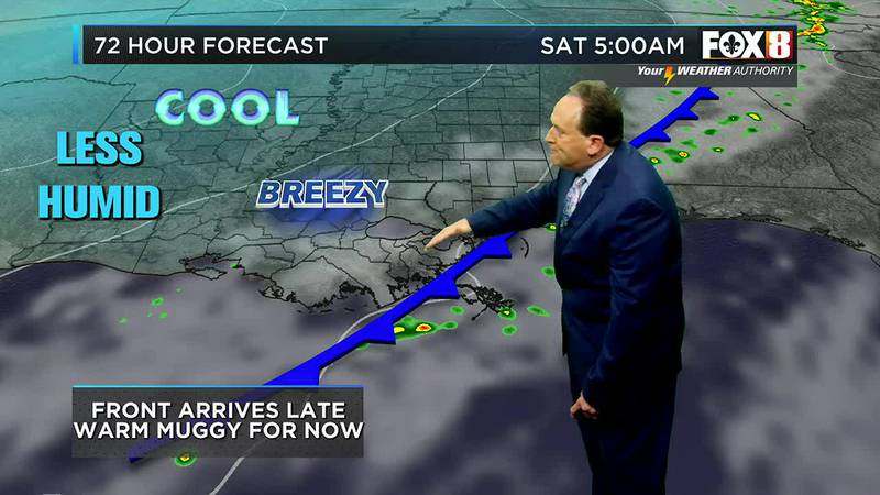 Bruce's Friday afternoon weather forecast 10/15