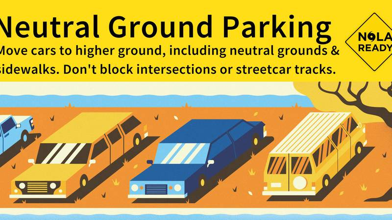 The City of New Orleans has lifted parking restrictions across the city as street begin to...