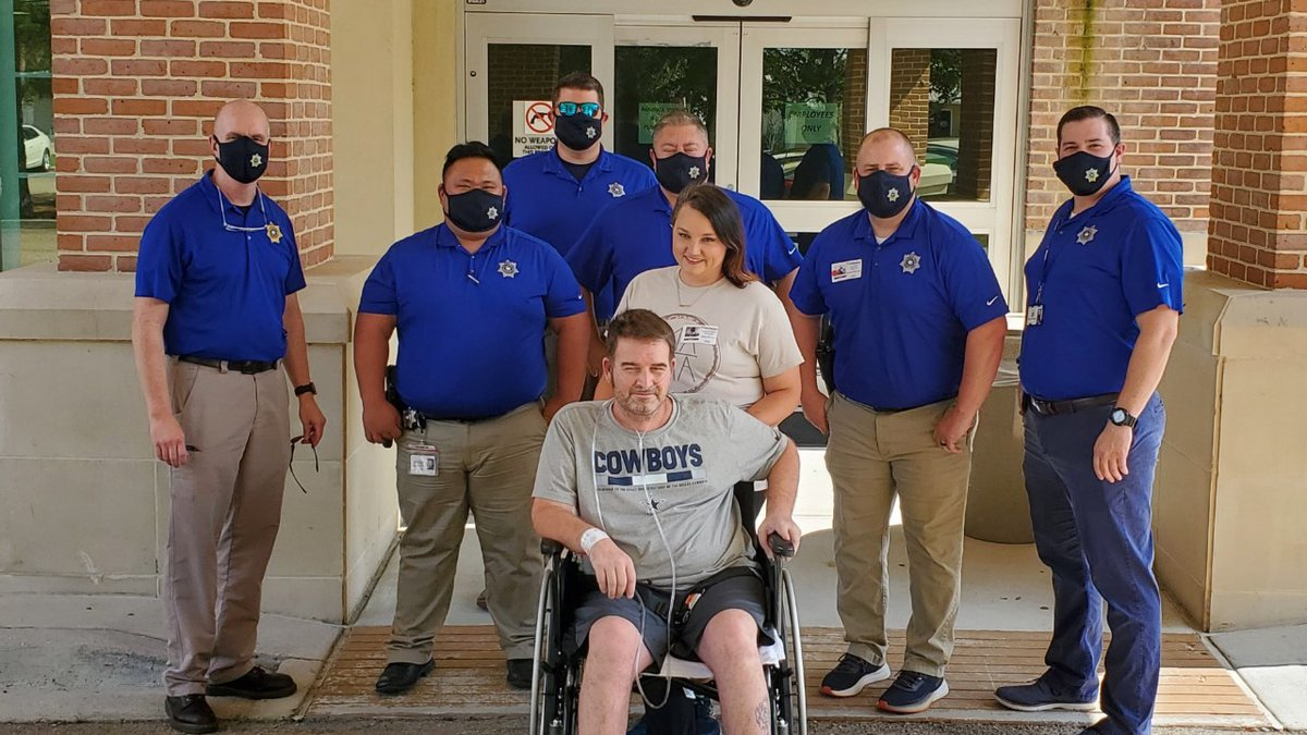 Chris Morgan, a STPO property crimes detective was released Tuesday (Oct. 5) after seven long...
