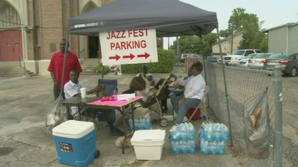 Parking for Jazz Fest is probably going to cost visitors one way or another.