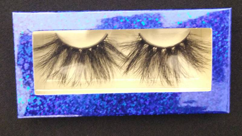A shipment of thousands of fake eyelashes was seized from a DHL shipping terminal at the New...