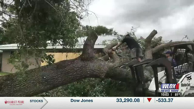 As Tropical Storm Claudette made landfall in South Mississippi, confirmed tornadoes left a path...