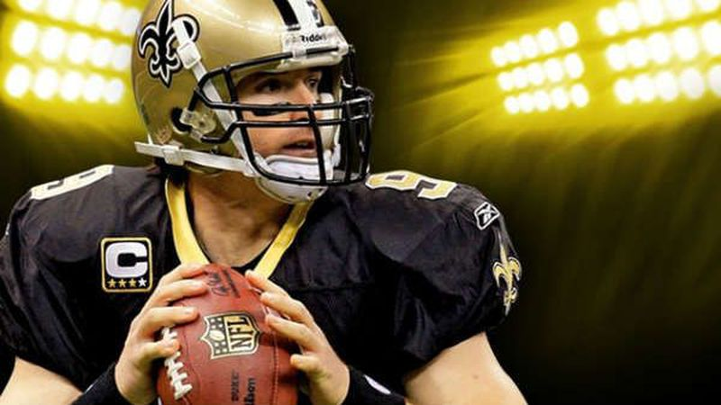 """New Orleans Saints fans hope Drew Brees can help the """"Black and Gold"""" win another Lombardi..."""