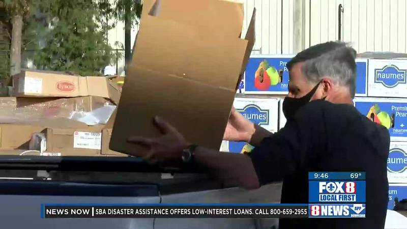 Preview of FOX 8 Food Drive
