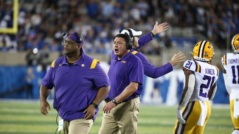 LSU owns a 2-game losing streak after their trip to Kentucky.